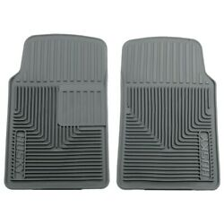51062 Husky Liners Floor Mats Front New Gray For Chevy Olds 61 Special Defender