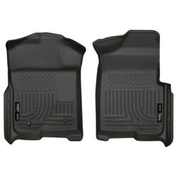 18331 Husky Liners Floor Mats Front New Black For F150 Truck Ford F-150 09-14