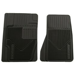 51121 Husky Liners Floor Mats Front New Black For Chevy Explorer Coupe Sedan Cts