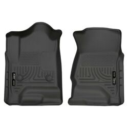 18231 Husky Liners Floor Mats Front New Black For Chevy Chevrolet Silverado 1500