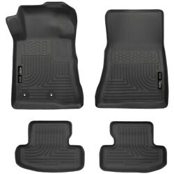 99371 Husky Liners Floor Mats Front New Black Coupe For Ford Mustang 2015-2018
