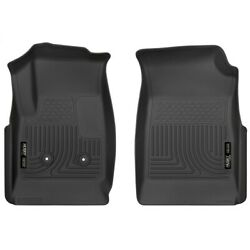 18111 Husky Liners Floor Mats Front New Black For Chevy Chevrolet Colorado Gmc