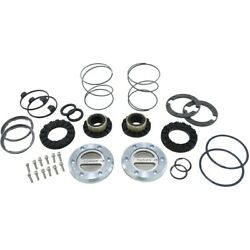Yhc70003 Yukon Gear And Axle Set Of 2 Locking Hubs Front New For Chevy F-250 Pair