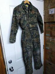Cabela#x27;s for Kids Camo Camouflage Overall Coveralls Hunting Size M Medium Green $45.00