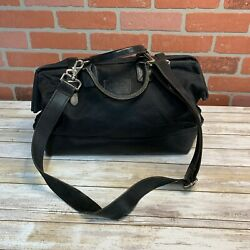 Apolis Canvas Black Bag Women#x27;s w Shoulder Strap $39.99