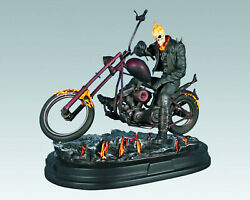 Gentle Giant Ghost Rider Statue 064/250 Johnny Blaze Marvel New Sealed