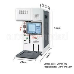 Tbk958b Automatic Laser Marking Machine Back Glass Separator For Mobile Phones