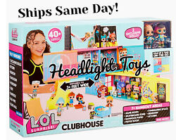 In Hand Lol Surprise Remix Clubhouse Playset Fold Up House 2 Exclusive Tots Doll