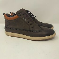 Brand New Pair Of Xray Hornell Lace-up Chukka Boots Brown Xrw1499 Size 13