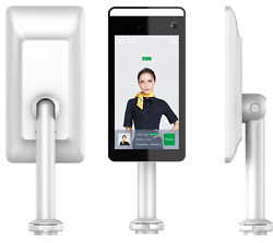 Sleek Design Infrared Thermal Imaging And Facial Recognition Access Control System