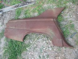63 64 65 66 Dodge Dart Nos Right Rear 1/4 Panel Outer Skin Solid Oem Rare 0 Rust