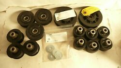 New Huge Lot Of Honeywell Intelligrated Pulleys And Other Conveyor Parts