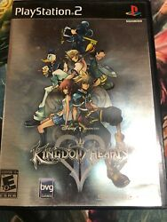 Kingdom Hearts Ii 2ps2 Black Label Complete And Tested W/ Registration Card