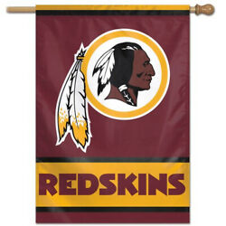 Washington Redskins Vertical Flag New 28x40 Inches Free Shipping