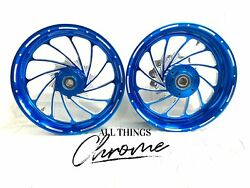 Candy Blue Turbo Stock Size Wheel Package 2008-2011 Honda Cbr1000rr