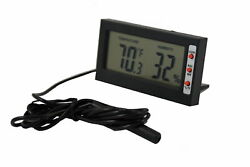 Reptile Thermometer Hygrometer DTH 06 Lizard Gecko Snake Bearded Dragon Guage
