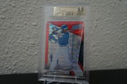 Vladimir Guerrero Jr 2018 Panini National Gold Vip Prizm Red Wave And039d/25 Bgs 9.5