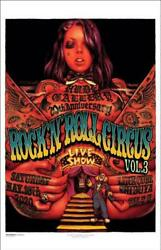 Rockinand039 Jelly Bean Rockandrsquonandrsquoroll Circus Vol.3 Silk Screen Poster Limited To 100