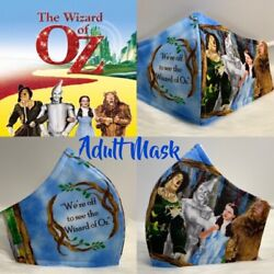 Limited Edition The Wizard Of OZ Designer Adult Face Mask (Only One Left) $25.00