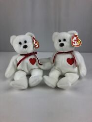 Ty Valentino Beanie Babies Lot Of 2 Nwmt 1994