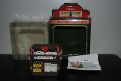Antique Coca Cola Collection Item Town Square Christmas Village 1996 New In Box