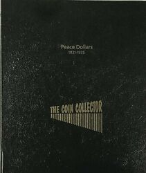 The Coin Collector Album For Peace Dollars 1921 To 1935 24 Slots In 2 Pages New