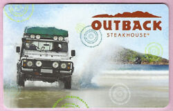Outback Steakhouse No Value Gift Card - Land Rover On Beach