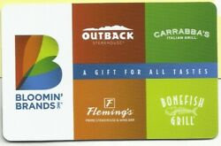 Outback Steakhouse No Value Gift Card - A Gift For All Tastes