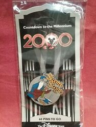 Disney Pin Countdown To The Millenium Series Mint Pin On Card 61-72
