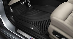 Genuine Bmw All Weather Rubber Floor Mats Front Rear G30 5 Series Lhd
