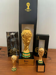 Fifa World Cup 6 Trophys Brazil 2014 Final Germany-argentina+3 Cups/mugs+ticket