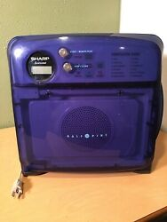Sharp R-120DR Half 12 Pint Compact Microwave Oven Boat RV Dorm Room
