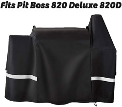 Utheer Grill Cover Waterproof For Pit Boss 820 Deluxe 820d Pb820fb Wood Pellet