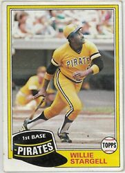 1981 Topps Baseball Cards 360-726 Pick The Cards To Complete Your Set