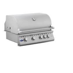 Oci 32and039and039 4 Burner Built In Drop In Bbq Grill Island Natural Gas