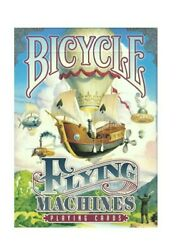 Bicycle Playing Cards Flying Machines - Poker Size Deck. Collector