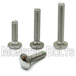 5/16-18 Stainless Steel Carriage Bolts Square Neck, A2 / 18-8, Aka Shaker Screen