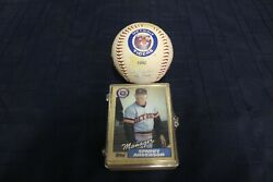 1992 Detroit Tigers Signed Facsimile Autograph Baseball And 1987 Trading Cards