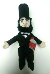 Little Thinkers Abraham Lincoln Plush Doll Educational Toy 17''