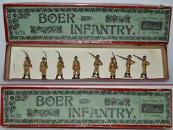 Britains Pre-war Set 28 Boer Infantry 1899 Very Good To Excellent Aa-11689