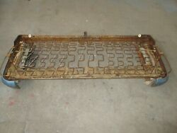 1957-58-59 Ford Fairlane Oem 2 Door Lower Front Seat Springs And Tracks