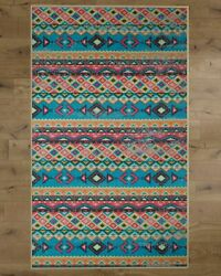 New Deerlux Boho Living Room Area Rug With Nonslip Backing