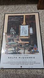 Star Wars Celebration 2015 Ralph Mcquarrie An Illustrated Life Exclusive Signed