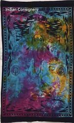 Tapestry Multi Color Wall Hanging Lord Ganesh Design Small Poster Wall Hanging