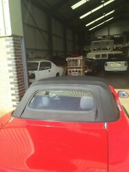 Mazda Mx5 Mk2 - Vinyl With Heated Zip Out Glass Window Very Rare