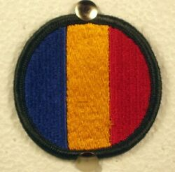 Us Army Replacement And School Command Ww Ii Full Color Patch Insignia V 2