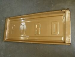 Oem Ford 1980 1986 Truck Step Side Tail Gate F150 1981 1982 1983 1984 1985
