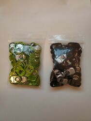 200 Monster Energy Drink Can Tabs - Promo - Ships Free Black And Green