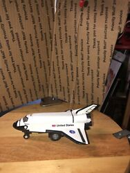 Space Shuttle Discover R/c Die Cast By Real Toys