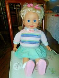 Playmates Cricket Doll 1985 Talking/animated With One Cassette Tape Vintage